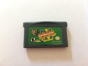 Mario Pinball Land Para Gameboy Advance