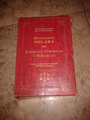 Vendo Diccionario NELARA de Ciencias Jurídicas y Sociales