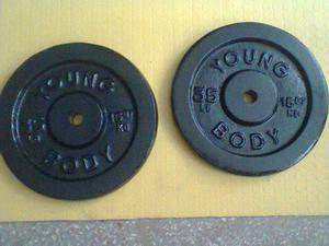 discos pesas para barra larga