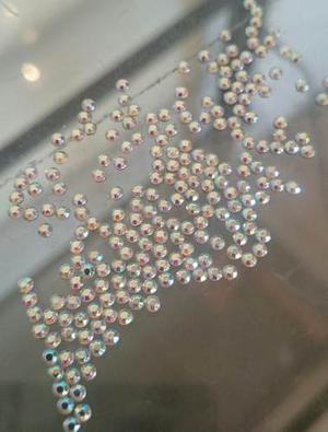 Cristales Para Decorar Tarjetas, Ganchos, Colas 2 Mm