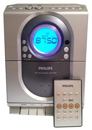 Minicomponente Hi-fi System Radio, Cd Y Cassette Philips