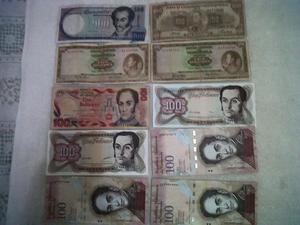 47 billetes antiguos soy de caracas no de valera error del