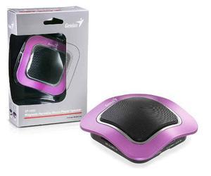 Mini Corneta Sp-i400 Magnetica Portatil Violeta Marca Genius