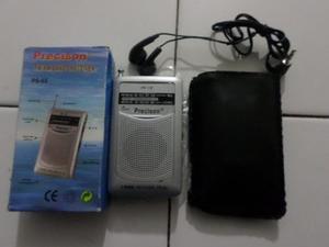 Mini Radio Portatil Fm/am+auriculares Oferta