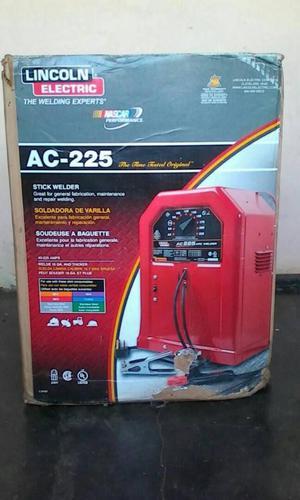 Maquina De Soldar Lincoln Ac225