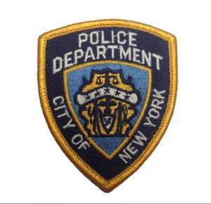 Parche Bordado Policia New York Usa