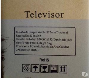 """TV 32"""" LED NUEVO EN SU CAJA"""
