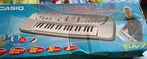 Teclado Eléctronico Casio Song Bank Keyboard Sa 75