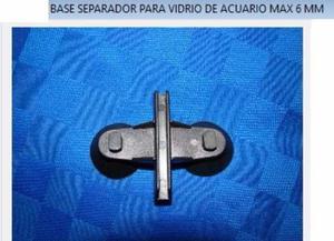 Base Separador Para Vidiro De Acuarios Peces Y Marinos