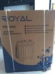 Lavadora Semi Automatica Doble Tina 4kilos Royal