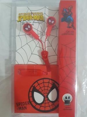 Manos Libres Audifonos Capitanamerica Mini Pokemon Spiderman