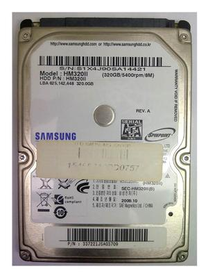 Oferta Disco Duro Para Laptop Sata 320gb