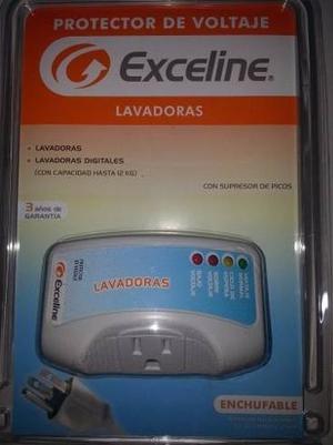 Protector Voltaje Exceline Gsm-lv 120 Lavadoras Digitales P