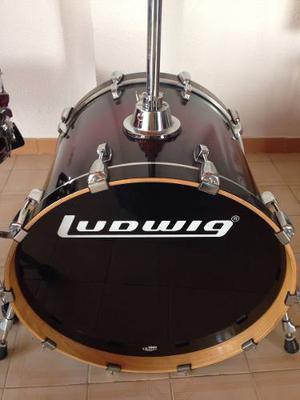 Batería Acústica Ludwig Accent Cs (6 Piezas)