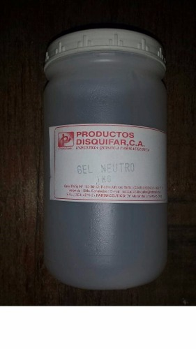 Gel Neutro De 1 Kg (combo De 8 Unidades)