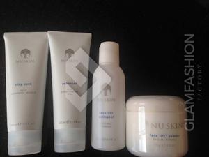 Nuskin Face Lift Activator + Enhancer +clay Pack Nu Skin