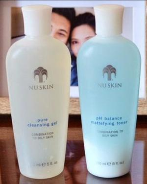 Nuskin Limpiadora Y Tónico Mixto Graso Nutricential Nu Skin