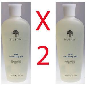 Nuskin Pure Cleasing X 2 Nu Skin Pure Cleaising Gel Limpia