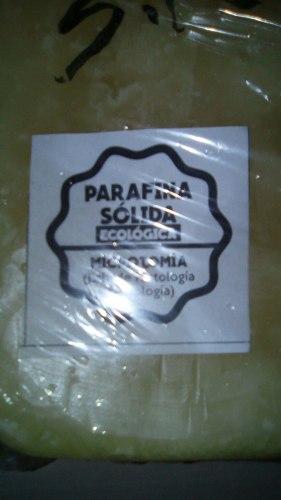 Parafina Solida (ecológica Baja Fusión)
