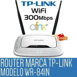 Router Tp-link Wr841n 300mbps 2 Antenas (Envío Gratis**)