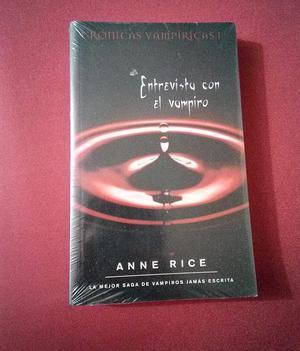 Entrevista con el Vampiro Anne Rice. Crónicas Vampíricas.