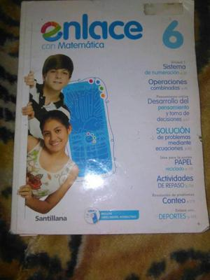 LIBRO ENLACE MATEMATICA 6TO GRADO