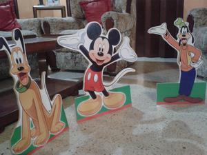 Muñecos Figuras Decorativas Disney Mickey PlutoGoofy