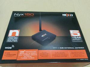 Router Nexxt 150 Mbps - Nuevo