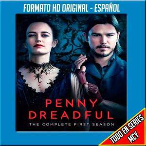 Serie Penny Dreadful Temporada 1,2,3 Formato Original