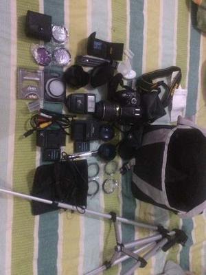 Camara Digital Nikon D Con Accesorios