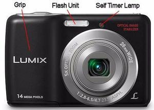 Camara Digital Panasonic Ls Mp En Su Caja