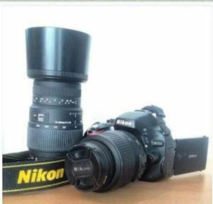 Cámara Nikon D Lente De mm Como Nueva