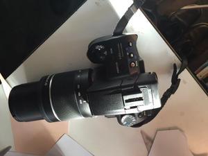 Cámara Réflex Sony Alpha  Profesional Con 2 Lentes