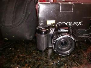 Nikon Coolpix L110 + Estuche + Memoria 4gb
