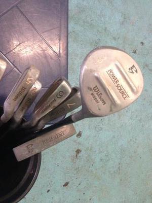 Palos De Golf Para Adulto Detallados Usados Wilson, Spalding