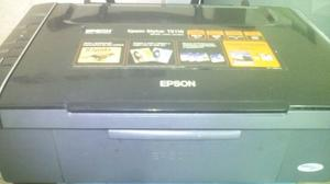 Impresora Multifuncioal Epson Tx110 Con Sistema