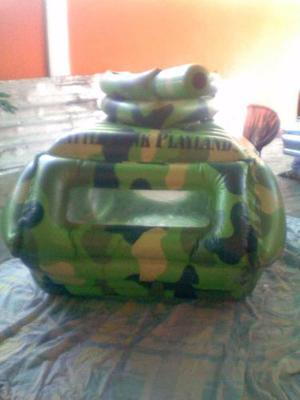 Inflable Con Forma De Tanque Para Niños