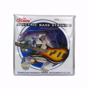 Juego De Cuerdas Para Bajo Electrico 4 Cuerdas Alice A603