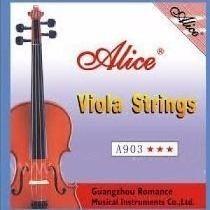 Set De Cuerdas Para Viola Alice A903 Nuevas