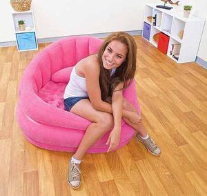 Sofa Inflable Gamuzado Intex
