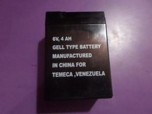 Bateria 6v,4ah Carros Y Motos Montables P/niños