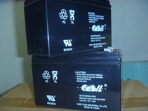 Baterias 12 Voltios 7 Amperios Para Ups Equipos De Seguridad