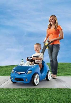 Carrito Buggy Rider 2 Azul Para Niños 18 A 48 Meses