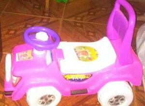 Carro Montable Para Niña Con Volante