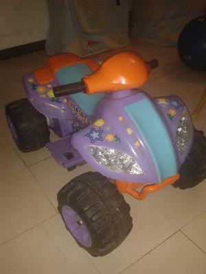 Moto Para Niña De Batería 12v