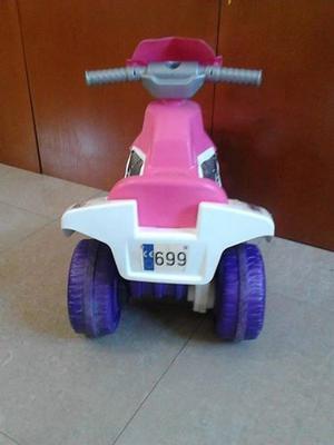 Moto Para Niña Usada A Bateria.