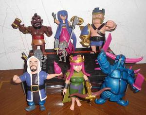 Figuras O Muñecos Clash Of Clan Set De 6 Piezas De