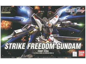Hg Strike Freedom Gundam