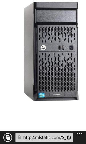 Servidor Hp Ml10 Con Disco De 500 Gb Y Memoria De 8gb