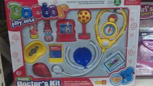 Set De Doctor Juguete Kit De Medico Para Doctor De Su Casa